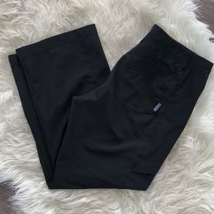 Patagonia All Out Black Crop